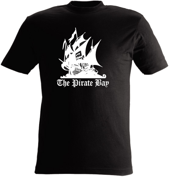 T-shirt the pirate bay nr142