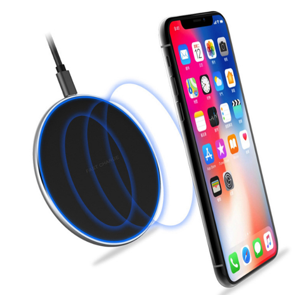 Unbranded Fast qi wireless charger dock for iphone x 8 plus xr xs samsung