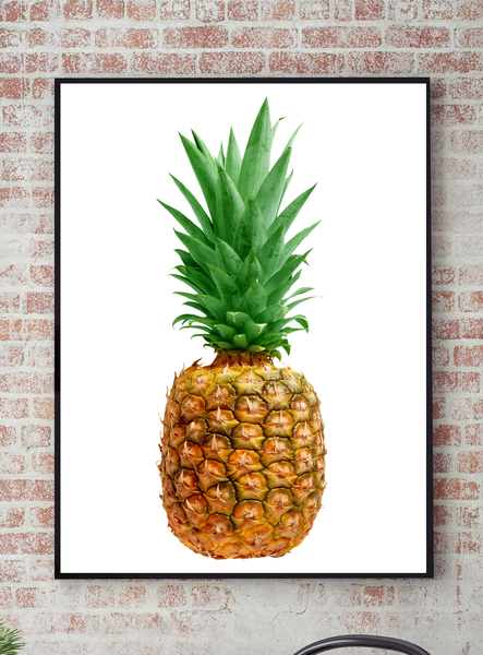 Poster - - - Ananas Topical 21x30cm 326523