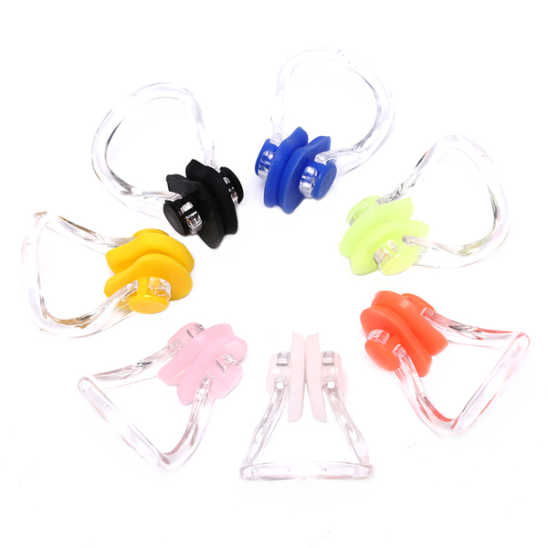 Nose clip boxed silicone soft and comfortable adult children swi