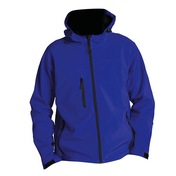 Sols mens replay hooded soft shell jacket (breathable windproof