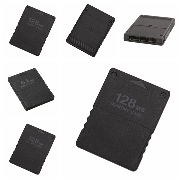 New 64mb &128mb memory card for sony playstation 2 ps2 slim cons