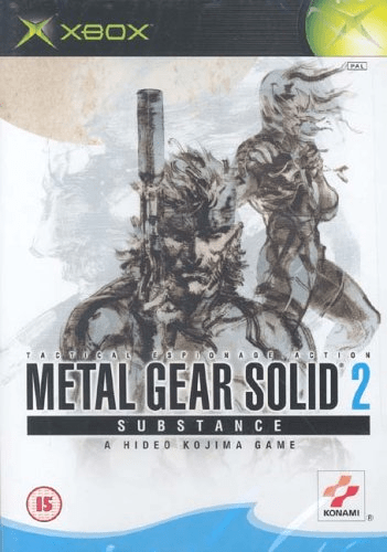 metal gear solid 2: substance – xbox