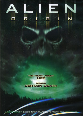 Alien origin -dvd