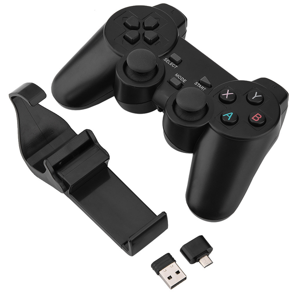 2.4g wireless smart gamepad bluetooth game controller for tv