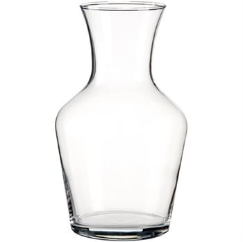 Round carafe 1.0l classic styled wine carafe
