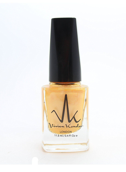 Vivien kondor vegan friendly nail polish -neon gold