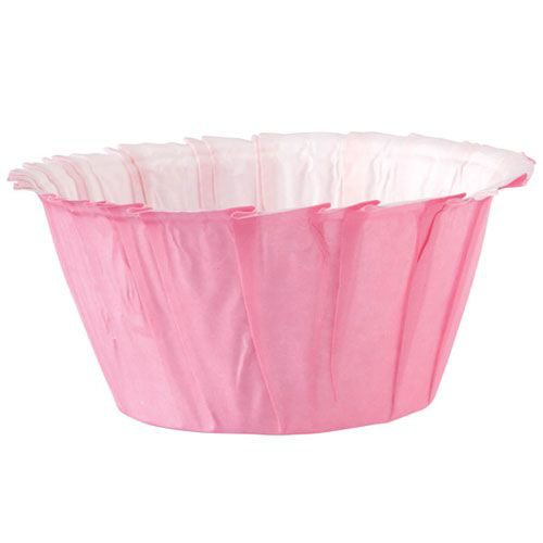 Wilton muffinsformar rosa ruffled pink 24 st cupcakes muffins fo
