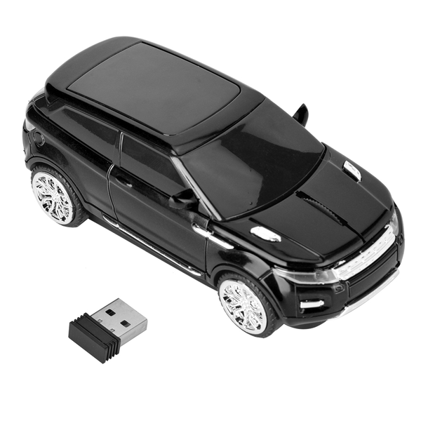 Wireless optical mouse 3d for range rover car-shaped compute