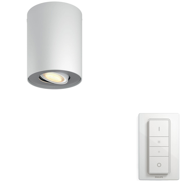 Philips Hue Pillar Vit Amb single Vi