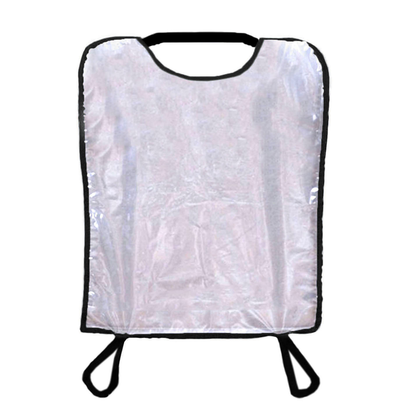 Car seat back cover transparent anti-step pad polyester+pvc