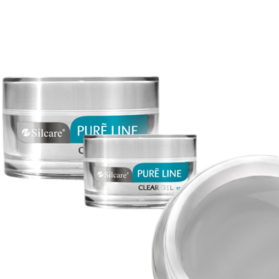 Pure line – builder – clear – 15 gram – silcare