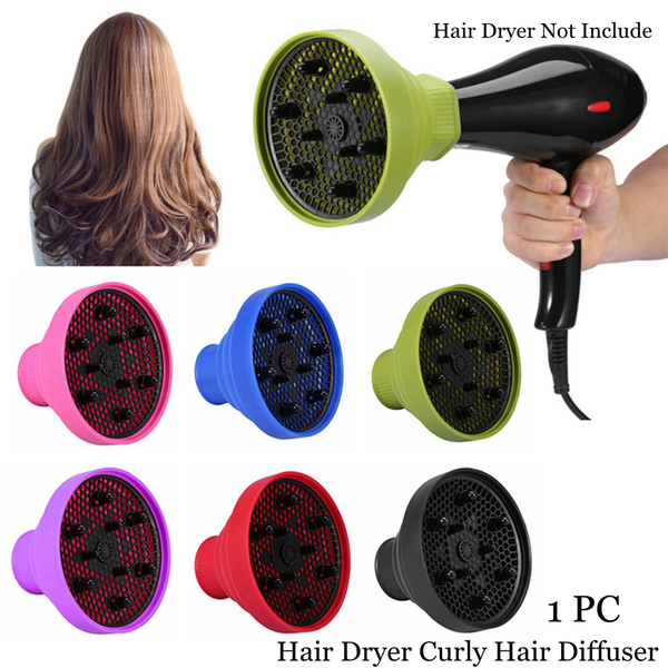 Hair dryer diffuser blower hood curly hair forming hairdressing