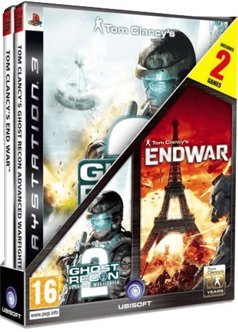 Ghost recon: advanced warfighter 2 & tom clancy's endwar (ps3)