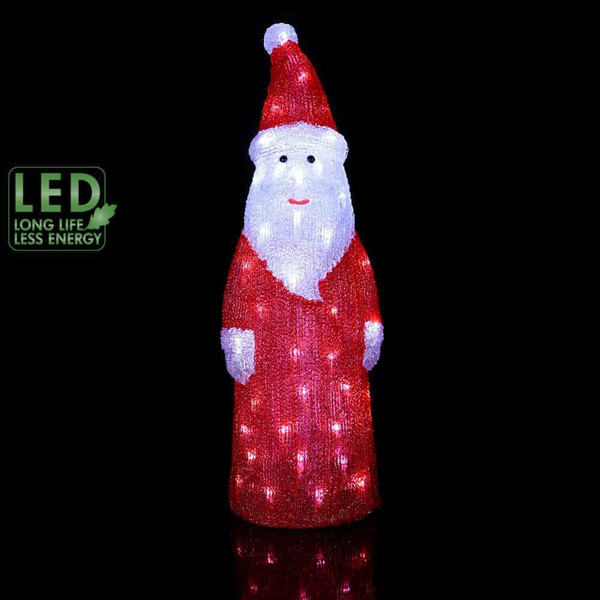 Crystal decoration tomte 57cm 57cm 57cm 60 LED e080f9