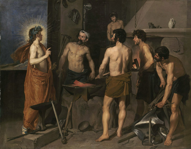 The Forge of Vulcan,Diego Velazquez,50x40cm Velazquez,50x40cm Velazquez,50x40cm 2b8f58