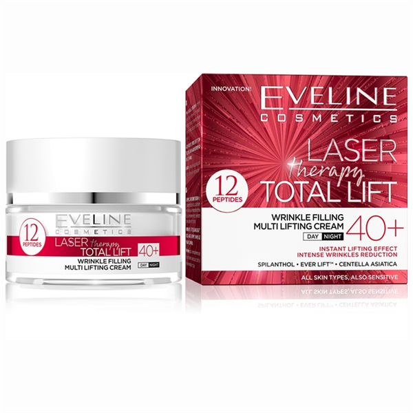 Ny! laser therapy total lift day and night cream 40+