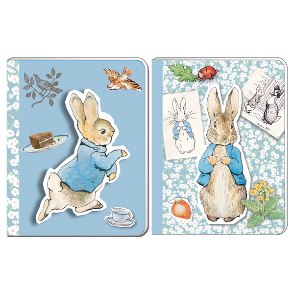 Peter Rabbit A6 Soft Cover Notebooks Beatrix Potter Notepad Gift