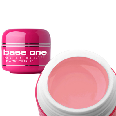 Base one – uv gel – pastel shades – dark pink – 11- 5 gram