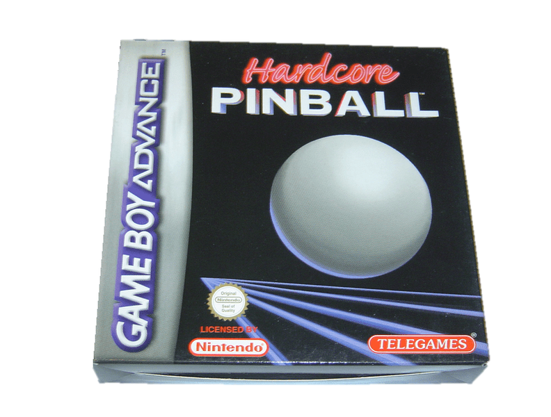 Hardcore pinball nintendo gameboy advance gba