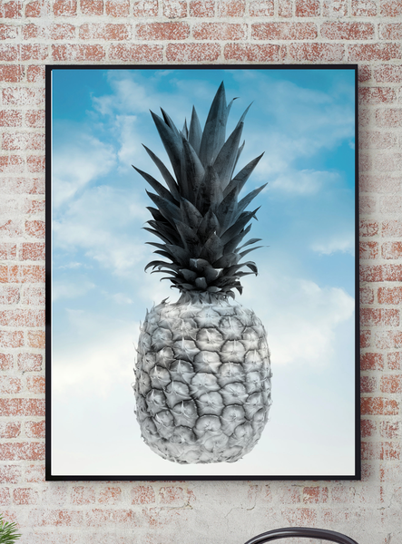 Poster Poster Poster - Ananas Topical Sky 70x100cm 946fb3
