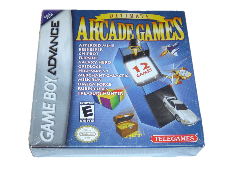Ultimate arcade games nintendo gameboy advance gba