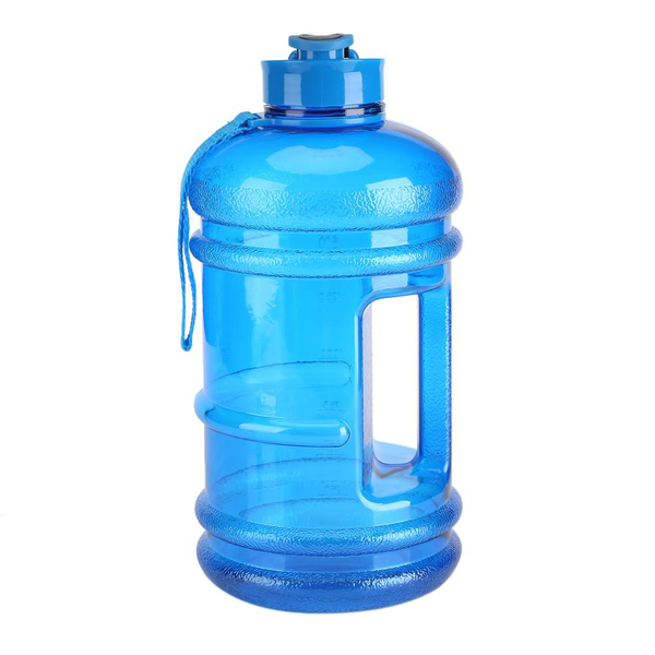 2.2l water bottle kettle sports cup camping gym large capaci
