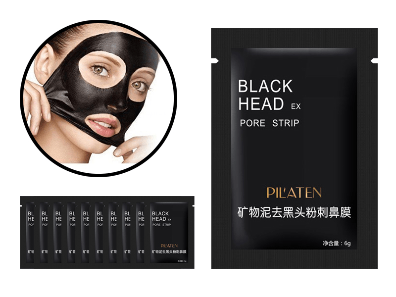 Pilaten ansiktsmask blackhead 10-pack