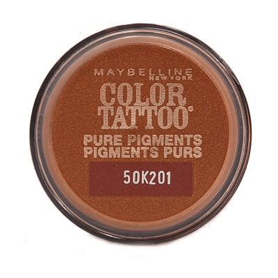 Maybelline tattoo pure pigments 24h eyeshadow breaking bronze