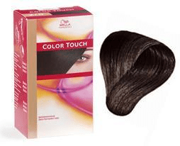 Wella color touch – 4/0 mellan brun