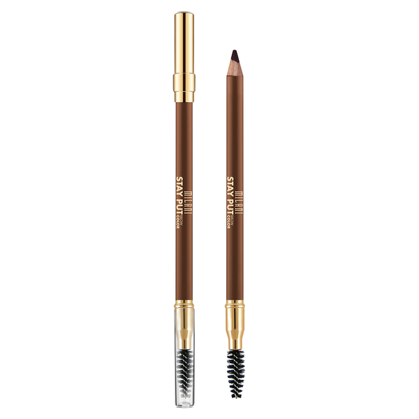Milani stay put brow pomade pencil – 02 soft brown