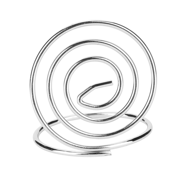 20pcs circle shape table number clip name card clip stand pa
