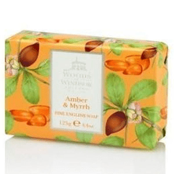 Woods of windsor fine english soap – amber & myrrh