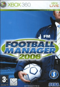 football manager 2006 – xbox 360