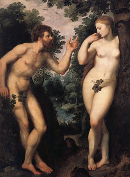 Adam and and and Eve, Peter Paul Rubens, 40x50 cm 7d5e61