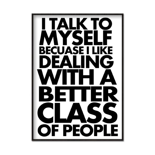 Poster A3 30x42cm Better Class of People