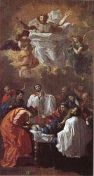 The Miracle of St Francis Francis Francis Xavier,Nicolas Poussin,80x40cm ecff6f