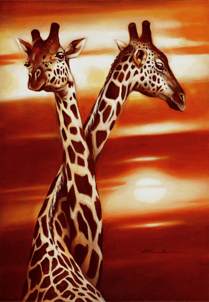 Xxl – poster giraffe in love