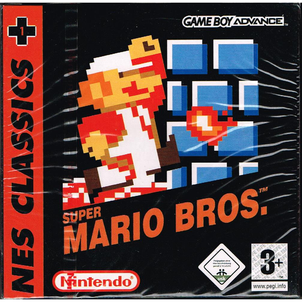 Super mario bros nes classics gameboy advance