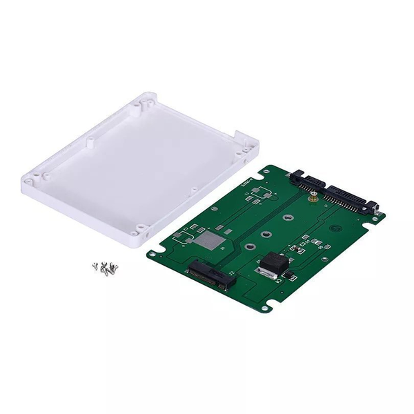 M.2 ngff ssd till sata 6gb/s adapter + 2.5 chassi