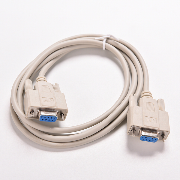 Serial rs232 null modem cable female to female db9 5ft 1.5m cros