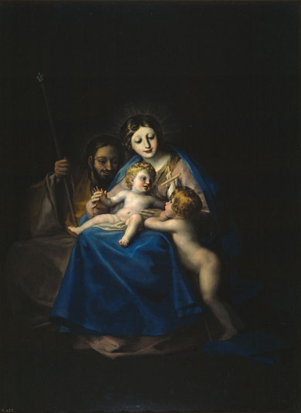 The Holy Family,Francisco de goya y Lucientes,50x40cm