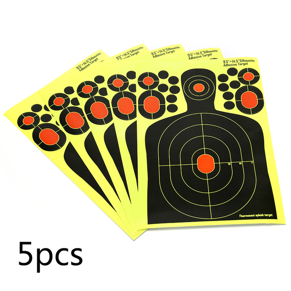 1x realistic hostage targets splatter adhesive target stickers h