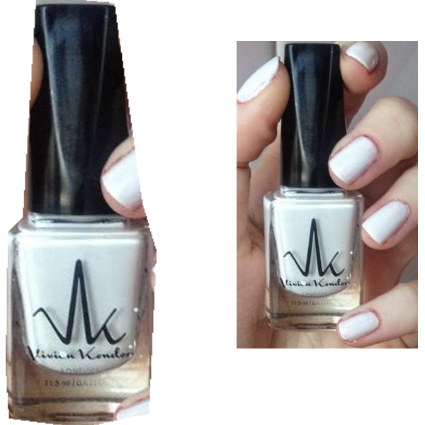 Vivien kondor vegan friendly nail polish-matte white