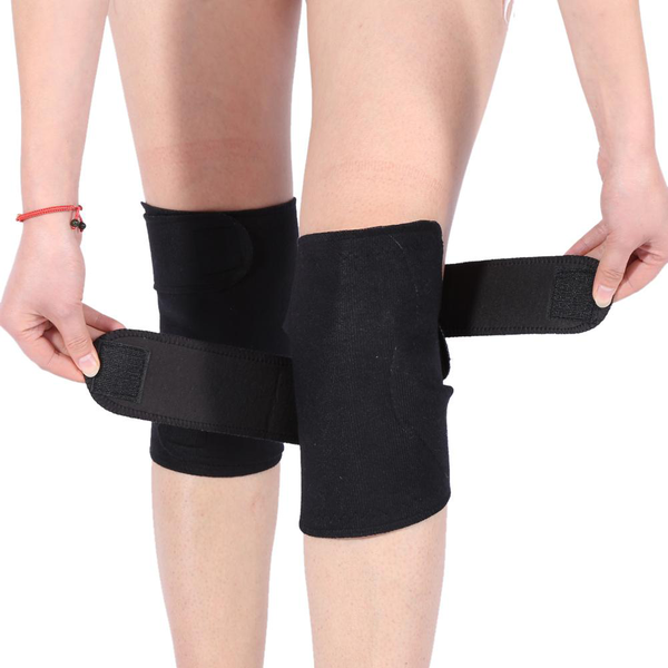 1 pair tourmaline self-heating magnetic therapy knee protect