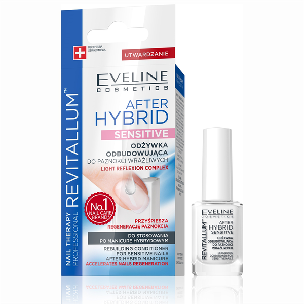 Nail therapy revitallum after hybrid sensitive