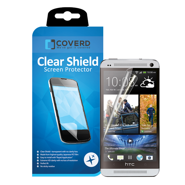 Coveredgear clear shield skärmskydd till htc one