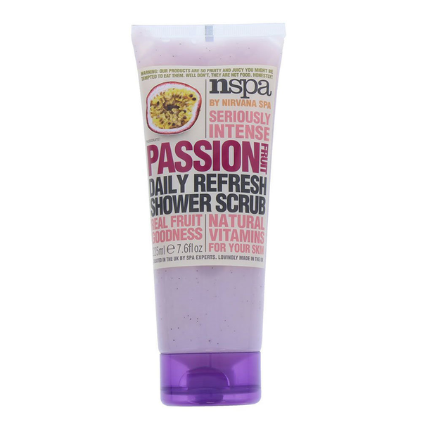 Nspa 225ml shower scrub passion fruit