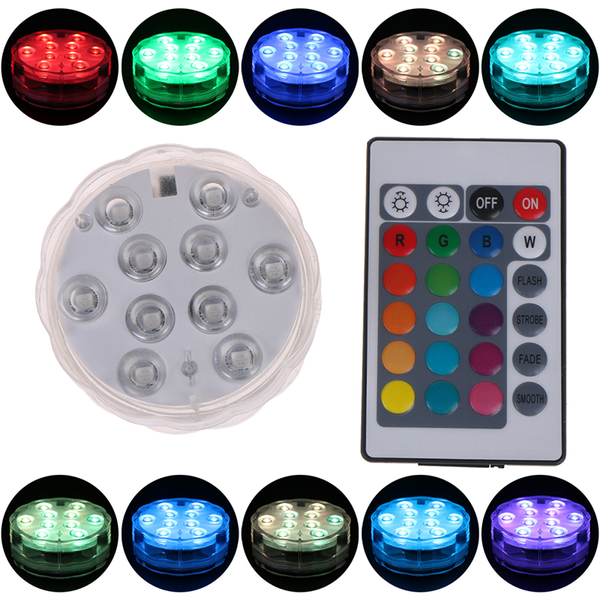 Hookah shisha accessories led light with remote control water pi