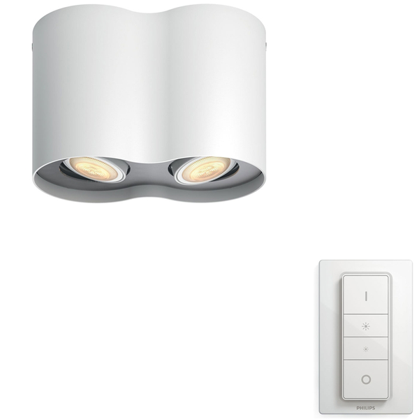 Philips Hue Pillar Vit Amb double Vi